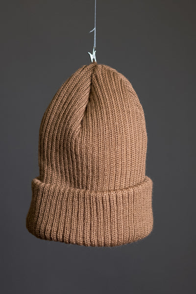 Cousteau beanie brown