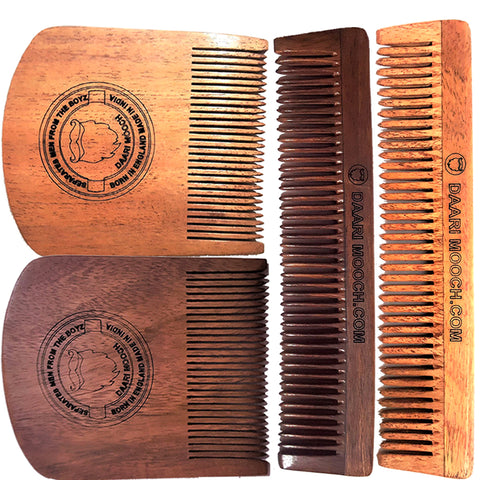 daarimooch hand made beard & hair comb
