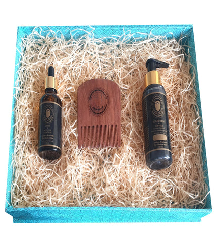 Beard Growth Treatment Kit