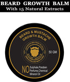 Beard & Mustache Growth Balm