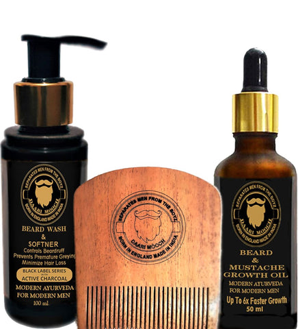 BEARD GROWTH TREATMENT KIT - daarimooch
