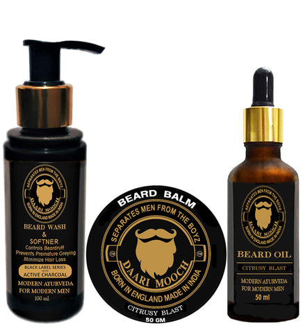 DAILY BEARD CARE KIT - daarimooch