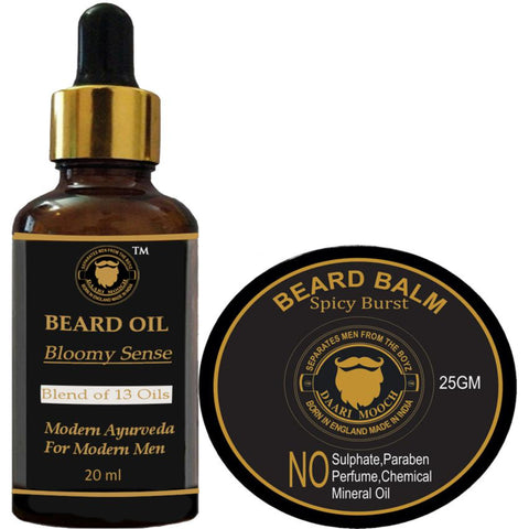 Beard Oil & Beard Balm Trial Pack