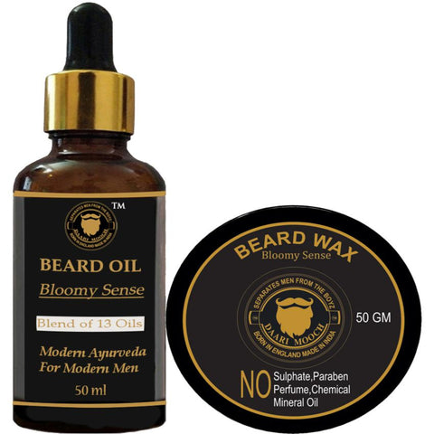Beard Oil & Beard Wax Combo