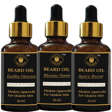 Beard Grooming Trial Packs