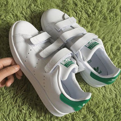 STAN SMITH CF J (WHITE/GREEN)