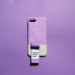 SECOND UNIQUE NAME,SUN CASE FINGER SWEATER LIGHT PURPLE LIGHT GREY | CHANCEMAKER STUDIO.