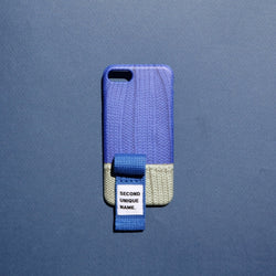 SECOND UNIQUE NAME,SUN CASE FINGER SWEATER RIVER BLUE LIGHT GREY | CHANCEMAKER STUDIO.