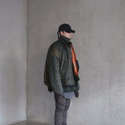 KLOTH,KLOTH HUGE OVERSIZED CONTRAST MA-1 BOMBER | CHANCEMAKER STUDIO.