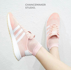 adidas originals,FLASHBACK (PINK / WHITE) | CHANCEMAKER STUDIO.