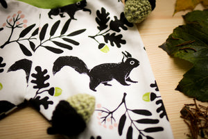 Squirrels Organic Leggings