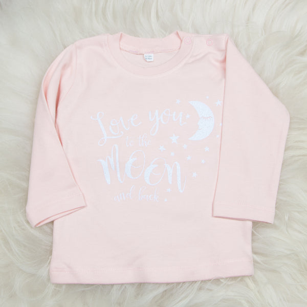 Love you to the Moon & Back (Pink)
