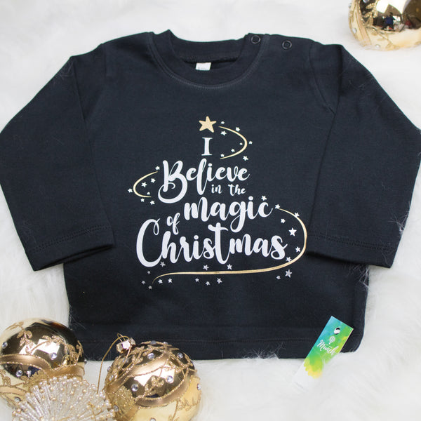 I Believe in the Magic of Christmas (Black)