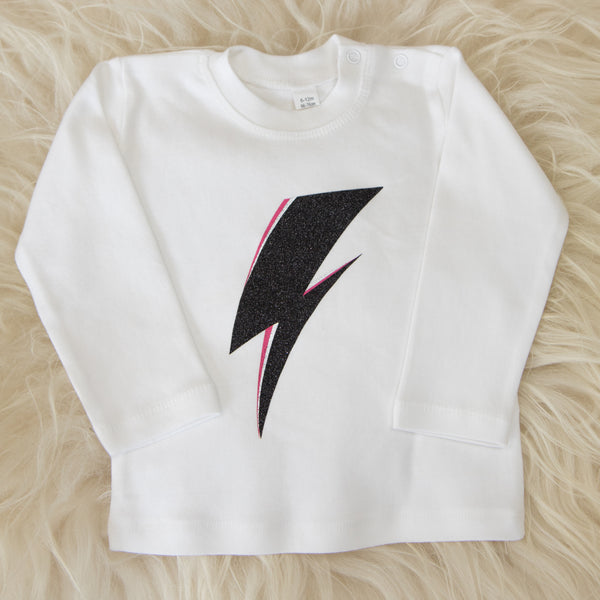 Lightning Bolt (White)