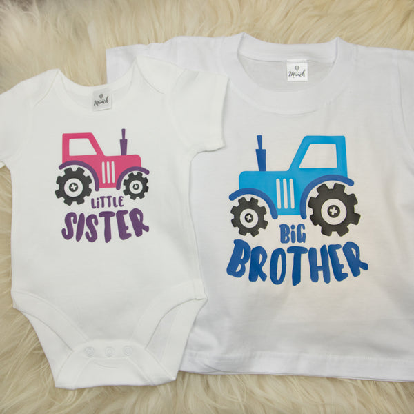 Little Sister / Big Brother Tractor