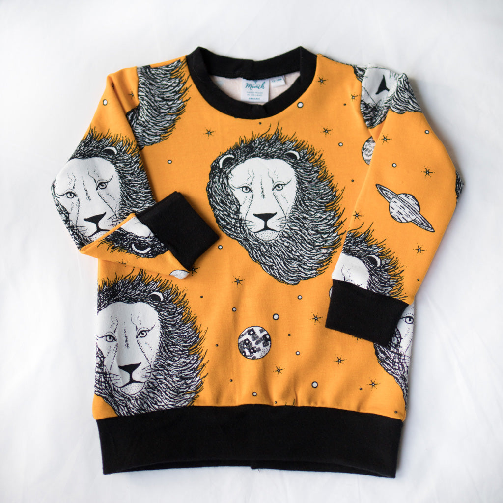 Space Lions Organic Sweater