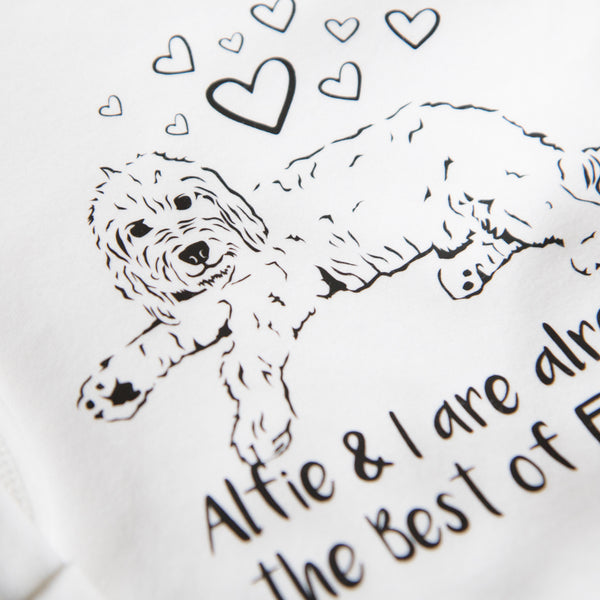 Illustrated Cockapoo Dog (Personalised)