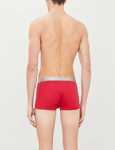 Pack of two slim-fit stretch-cotton boxer briefs