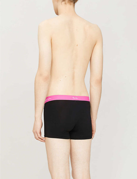 Stretch-cotton trunks pack of three
