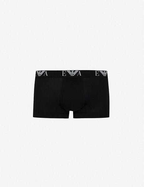 Pack of two slim-fit stretch-cotton trunks