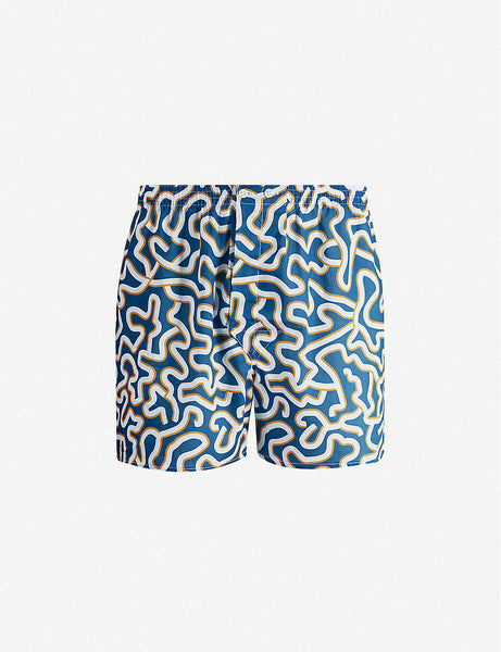 Ledbury graphic-print cotton boxers
