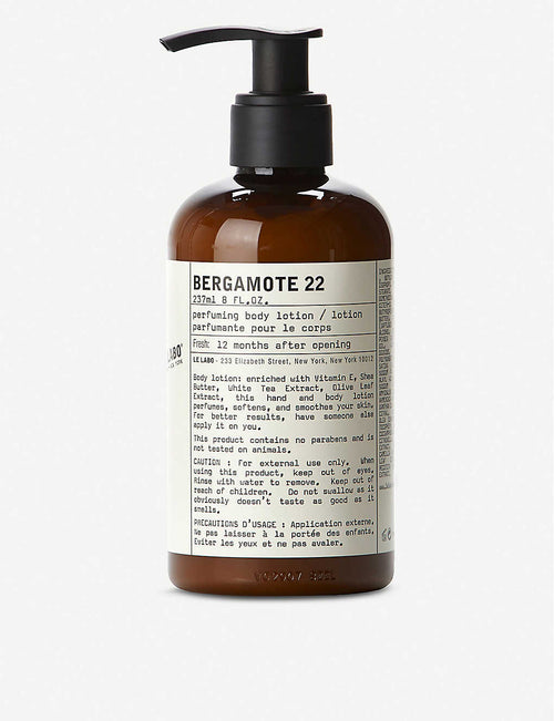 Bergamote 22 Body Lotion 237ml