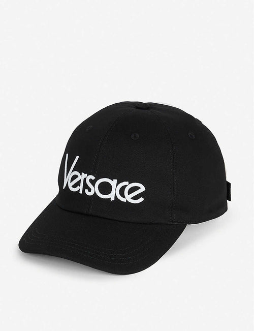 Logo-embroidered cotton baseball cap