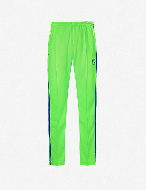 Contrast-panel shell tracksuit trousers