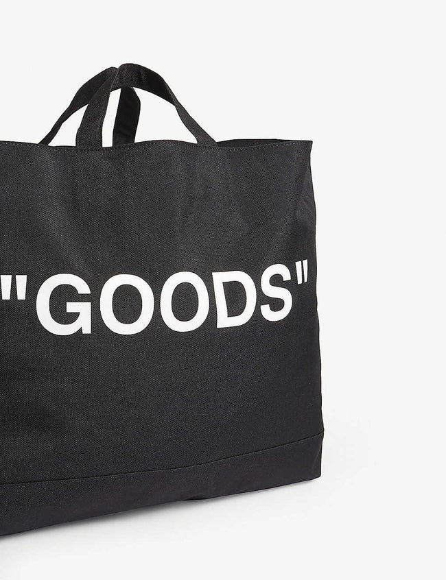 'Goods'' canvas tote bag