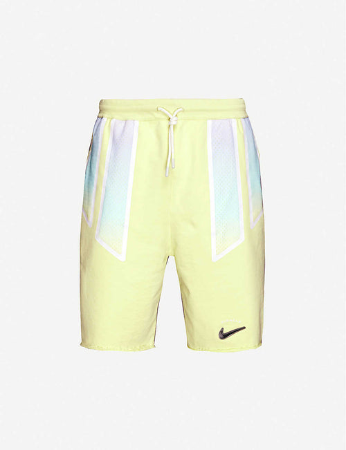 Nike x Pigalle relaxed-fit cotton stretch-jersey shorts
