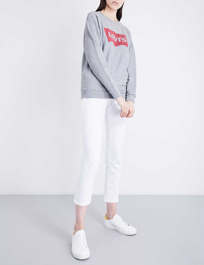 Relaxed cotton-jersey sweatshirt