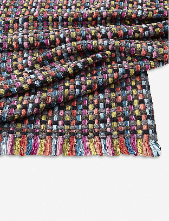 Jocker woven wool-blend throw 130cm x 190cm