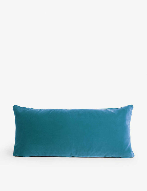 Monroe oblong velvet cushion