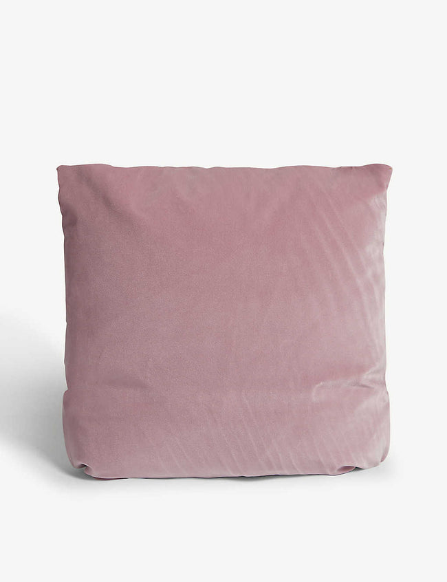 Monroe square velvet cushion 44cm x 44cm