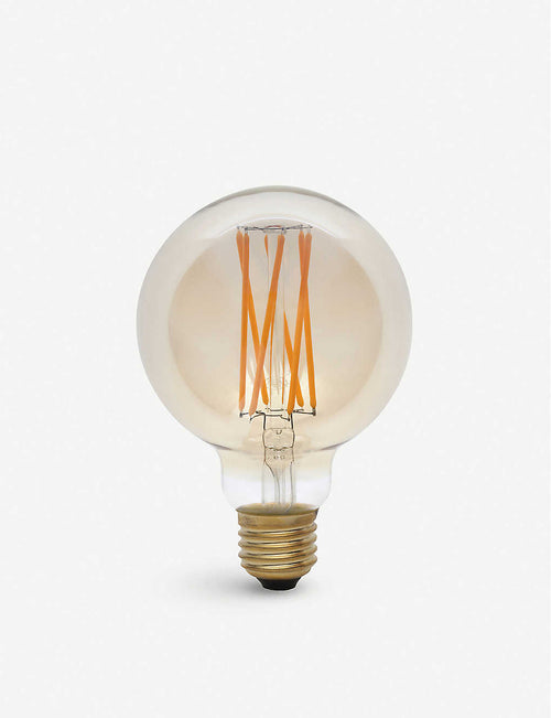 Elva 6W LED tinted light bulb