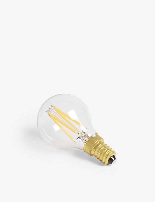 Pluto 4W LED clear light bulb