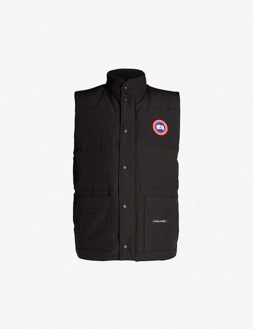 Freestyle Crew padded shell-down gilet