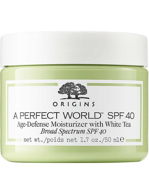 A Perfect World SPF 40 Age-defense moisturiser 50ml