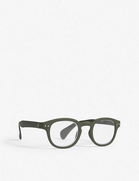 Letmesee #C oval-shaped reading glasses +2.00