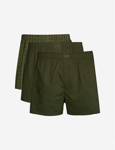Classic-fit boxer shorts pack of three