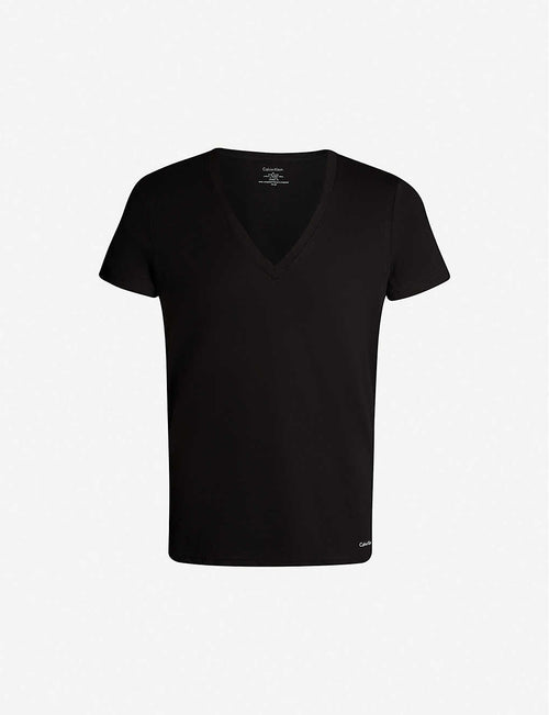 Pack of two cotton-jersey T-shirts