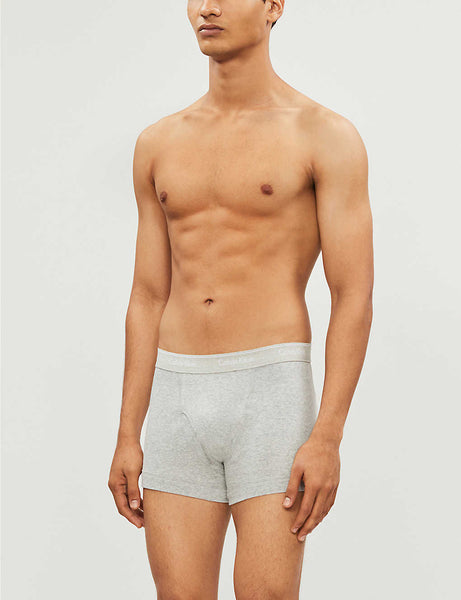 Cooling stretch-cotton trunks pack of three