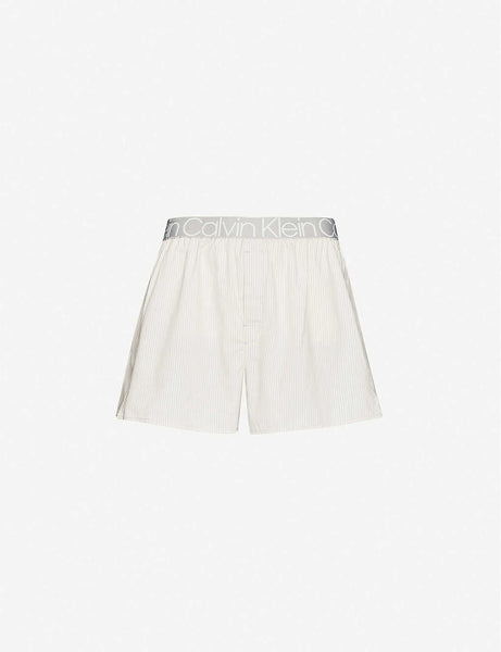 Star-print relaxed-fit cotton boxers
