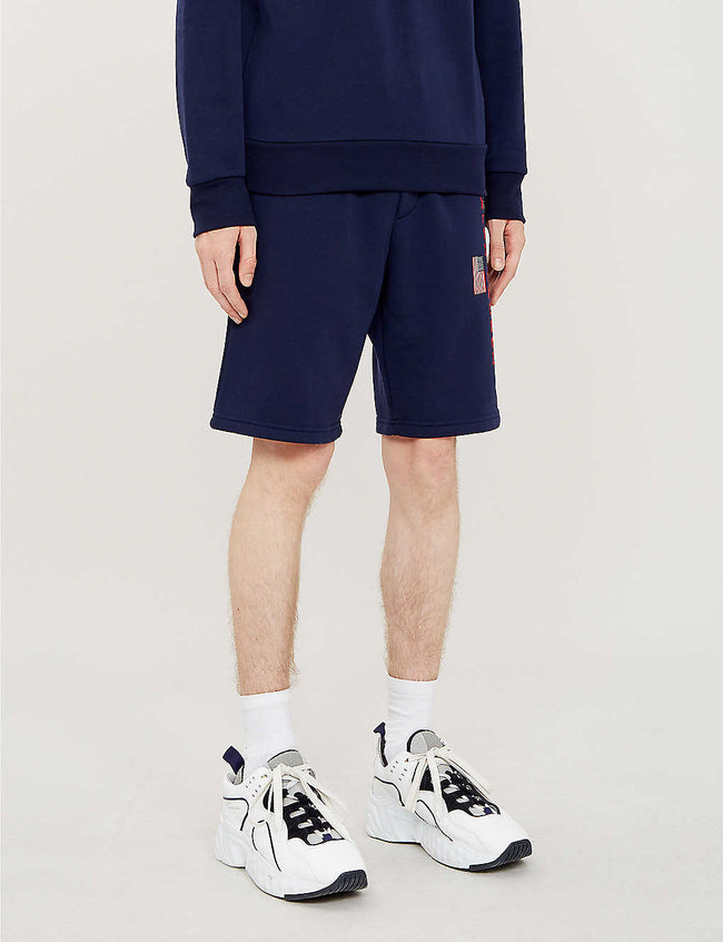 Polo Sport-print jersey shorts