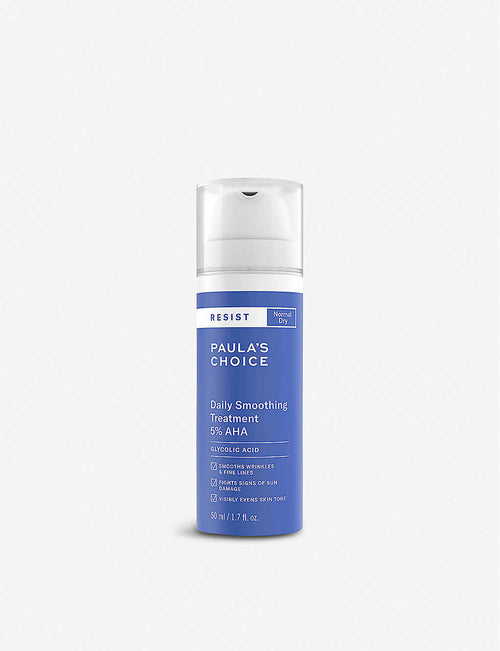 Resist Daily Smoothing Treatment 5% AHA exfoliant 50ml