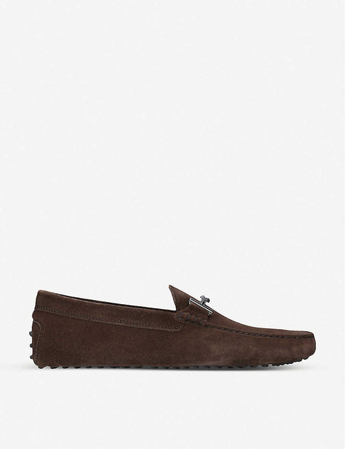 Gommino suede moccasins