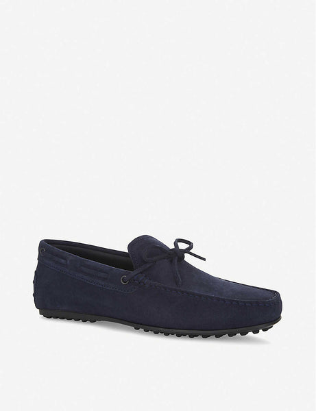 City driver suede driving shoes