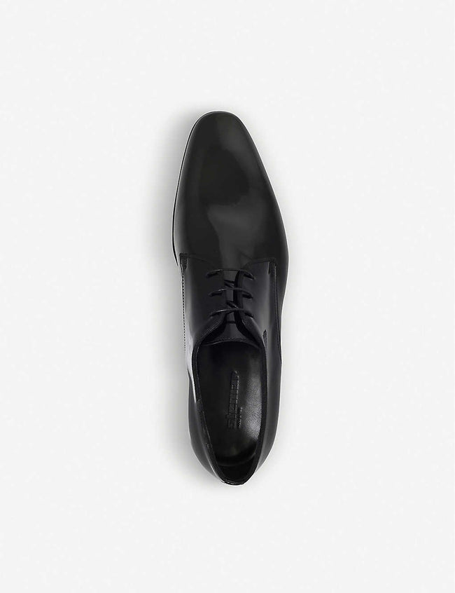 Scala patent leather derbys