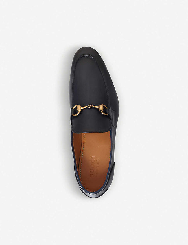 Jordaan horsebit leather loafers
