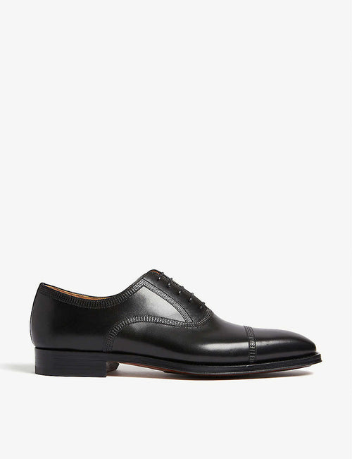Domino leather Oxford shoes